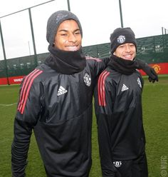 Manchester United Training, Manchester United Football, Football Boys, Soccer Boys, Jesse Lingard, Marcus Rashford, Sporting, Man United, Man Crush
