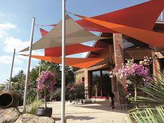 voile ombrage – RechercheGoogle Parasol, Patio, Recherche Google, Outdoor Decor, Images, Dragon, Diy, Home Decor, Gardens