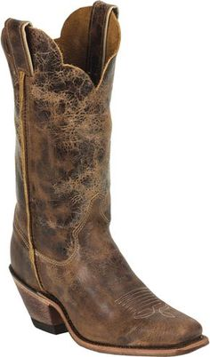 f340ef2f329478 Justin Women s Cracked Bent Rail Western Boots