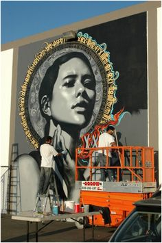 Street Art street art in London Incredible Urban Art Best Street Art, Amazing Street Art, 3d Street Art, Street Art Graffiti, Street Artists, Graffiti Girl, Urban Graffiti, Awesome Art, Graffiti Artwork