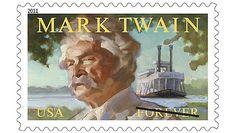USA 2011 - Samuel Langhorne Clemens, conocido por el seudónimo de Mark Twain, fue un popular escritor, orador y humorista estadounidense
