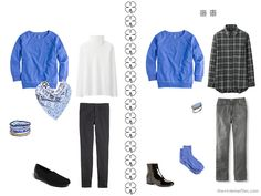 The Vivienne Files: Outfit Packing: Black, Blue and White