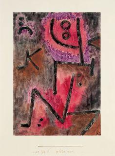 Paul Klee - glüht nach, 1939, 925 (YY 5)