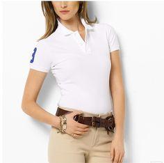 2017 Women Brand Polo Shirt For Women Designer Polos Women Cotton polos ralphly Women Short Sleeve shirt jerseys golftennis