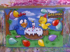 Painel em tecido, pintado à mão! Lindo, colorido e está no auge!!! R$ 165,60