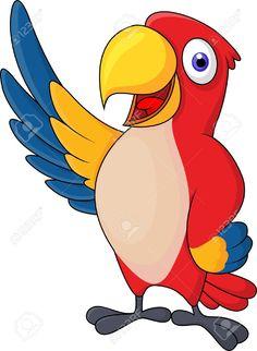 cartoon parrot - Google Search