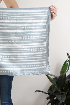 DIY Plain Napkin to Hand Painted Bandana