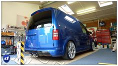 VW Caddy 2k R | SHOW and GLOW 2013  |  Pre Show Paint Enhancement Detail | dooka detailing northampton