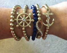 Nautical Bracelet Stack