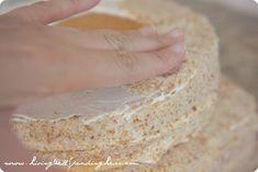 How to Make a Sandcastle Cake | Sandcastle Cake Tutorial