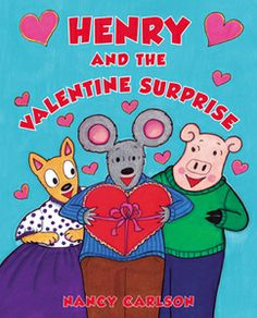 "Read ""Henry and the Valentine Surprise"" by Nancy Carlson for free online via @WeGiveBooks. (Ages 4-7) http://www.wegivebooks.org/books/henry-and-the-valentine-surprise #ValentinesDay #childrensbooks #prek #friendship"