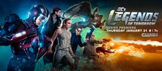 'Legends of Tomorrow' New Teasers Feature Hawkman, Rip Hunter and More [WATCH VIDEO] - http://www.movienewsguide.com/legends-tomorrow-new-teasers-feature-hawkman-rip-hunter-watch-video/137980