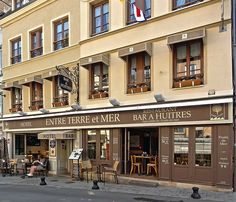 """DSC04403- Restaurant """"Entre Terre et Mer"""" Honfleur"""