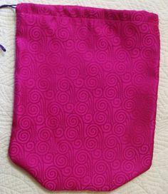 Spinning Purple ShooBag by shoesies4u on Etsy, $15.00