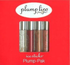 Freeze 24 7 - Plump Lips Ice Sticks Plump-Pak >>> Learn more by visiting the image link. (This is an affiliate link) Lip Ice, Lip Plumpers, Plump Lips, Natural Lip Colors, Lip Makeup, Freeze, Best Makeup Products, Image Link, Moisturizer