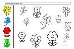 thema bloemen - Google keresés Kindergarten Activities, Book Activities, Educational Activities, Visual Schedule Autism, Printable Preschool Worksheets, Math For Kids, Too Cool For School, Plantation, Floral Illustrations