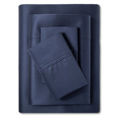 Performance Sheet Set (California King) Metallic Blue 400 Thread Count - Threshold