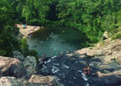 Blue Hole Mark Twain National Forest Camping