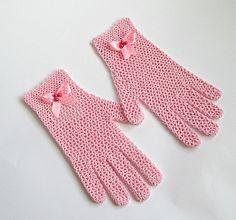 1 Pair Hot Sale Party Supplies Cream Lace Pearl Fishnet Gloves Communion Flower Kids Girl Accessories Fashion Style Cheap Sales 50% Apparel Accessories Girl's Accessories