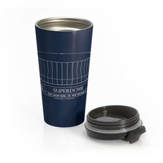 Superdome Stainless Steel Travel Mug
