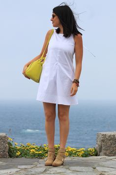 #fashion #zara #fashionblogger #mode #blogger #style #fashionblog #dress #white