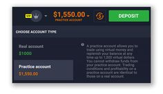 IQ OPTION Lithuania: INTRODUCING THE PRACTICE ACCOUNT