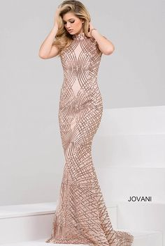 Champagne Cap Sleeve Open Back Beaded Dress 47962