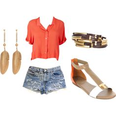 Cute outfit with Troy butch Sandals