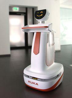 Billedresultat for kuka service robot Technology Hacks, Technology Gifts, Smart Home Technology, New Electronic Gadgets, Electronics Gadgets, Ai Robot, Mobile Robot, Real Robots, Touch Screen Laptop
