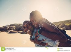 Man Carrying Woman, He's Beautiful, Girlfriends, Boyfriend, African, Stock Photos, Fresh, Couples, Women