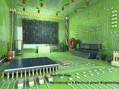Amazing and creative electronic circuit room for electrical engineers