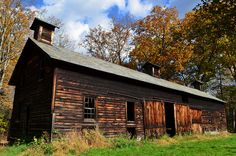 Two-story hog barn on the former Zimmerman farm, Delaware Twp., Pike Cty., PA | Flickr - Photo Sharing!
