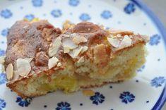 Bagenørdens yndlingskage med mango og marcipan   NOGET I OVNEN HOS BAGENØRDEN Marzipan, Mango, Butter, French Toast, Cheesecake, Pie, Cookies, Breakfast, Desserts