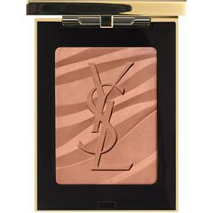 Yves Saint Laurent Beaute Les Sahariennes Bronzing Stones ($55) ❤ liked on Polyvore featuring beauty products, makeup, cheek makeup, cheek bronzer, beauty, bronzer and yves saint laurent