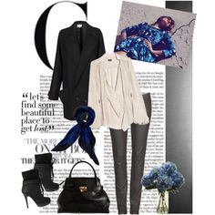 """""""Blue-tiful"""" by polybot on Polyvore"""