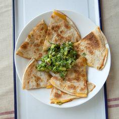 Charred Serrano Cheddar Quesadillas Recipe - Sarah Bolla | Food&Wine