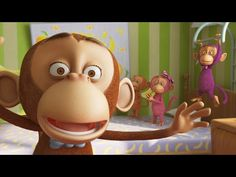 Five Little Monkeys - BEST version Full HD - Nursery Rhymes - LooLoo Kids - YouTube