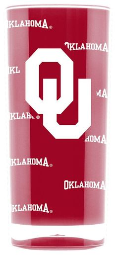 Oklahoma Sooners Tumbler - Square Insulated (16oz)