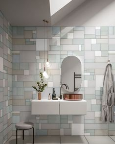We're loving the fresh glossy vibe of these wall tiles from one of our favourite Italian suppliers. The porcelain stoneware features a glass expression, with delicate colour variations that create depth while the glossy finish reflects and emphasises light.   20% OFF Bathrooms + Tiles until June 30!  #SALE #tilesale #tiledesign #porcelaintile Italian Tiles, Tile Manufacturers, Decorative Tile, Floor Decor, Porcelain Ceramics, Porcelain Tiles, Stone Tiles, Kitchen Tiles, Wall Tiles
