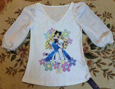 Kawaii Cute ALICE BOW PinkDoll Princess Hime Fairy Anime Girl Flutter Lolita Top #PinkDollFlowerFashion #KnitTop #Casual