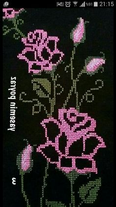This Pin was discovered by Lal Cross Stitch Heart, Cross Stitch Borders, Cross Stitch Flowers, Cross Stitching, Cross Stitch Embroidery, Cross Stitch Patterns, Broderie Bargello, Cross Stitch Cushion, Graph Paper Art