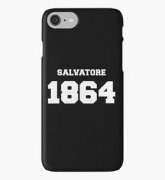 #TVD The Vampire Diaries The Vampire Diaries - Salvatore 1864 iPhone Case/Skin