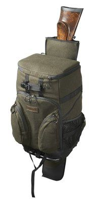 Harkila Metso rucksack chair - Hunting green/ Melton wool