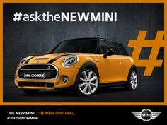 Question time goes turbo. What will you #asktheNEWMINI today?