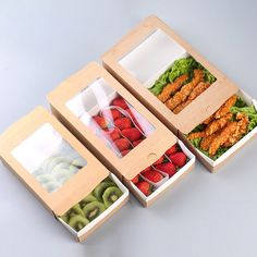 Quality Packing Box Salad Box Kraft Paper Disposable Case Food Push-pull Bento Cases Takeaway Packing Tools Takeout Packing Boxes with free worldwide shipping on AliExpress Mobile Salad Packaging, Food Box Packaging, Food Packaging Design, Paper Packaging, Gift Packaging, Food Packing Boxes, Food Truck, Disposable Food Containers, Salad Box