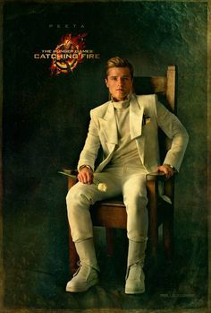 The Hunger Games: Catching Fire Capitol Portrait We love a man in a suit! Don't miss Josh Hutcherson as the boy with the bread himself, Peeta Mellark. The Hunger Games: Catching Fire is in. Katniss Everdeen, Mockingjay, The Hunger Games, Hunger Games Catching Fire, Hunger Games Trilogy, Hunger Games Characters, Hunger Games Poster, Hunger Games Costume, Catching Fire