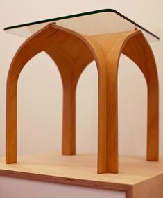 Cathedral Table by Nobu Miake: What a lovely table! via core77 #Table #Cathedrao_Table #Nobu_Miake