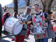"""Filarmonica Bormiese- Nel """"Paese delle meraviglie"""" , in occasione del Carnevale a Tirano, febbraio 2012"""