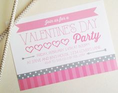 Valentine's Day Party Invites
