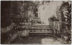 Title: The Grotto on the hill of Guadalupe. Mex. 1900 Location - Guadalajara, Jalisco, Mexico